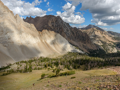 Castle Divide Trail, White Clouds Wilderness, Idaho