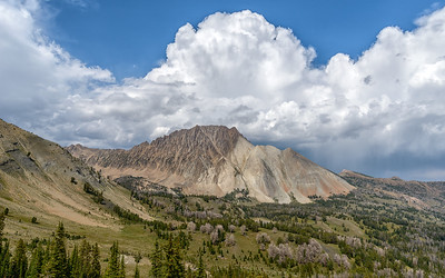 Castle Peak, White Clouds Wilderness, Idaho