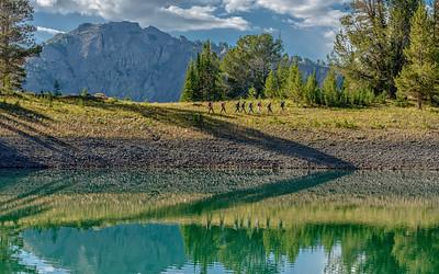 Chamberlain Basin Lake