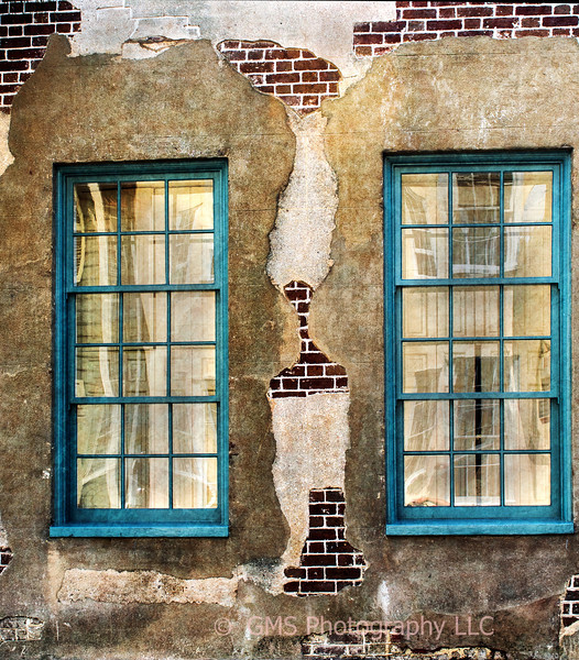 Twin Windows In Charleston