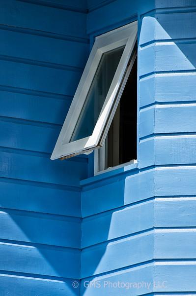 Window In The Corner In St Lucia