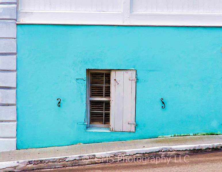 Street Level Window In Nassau