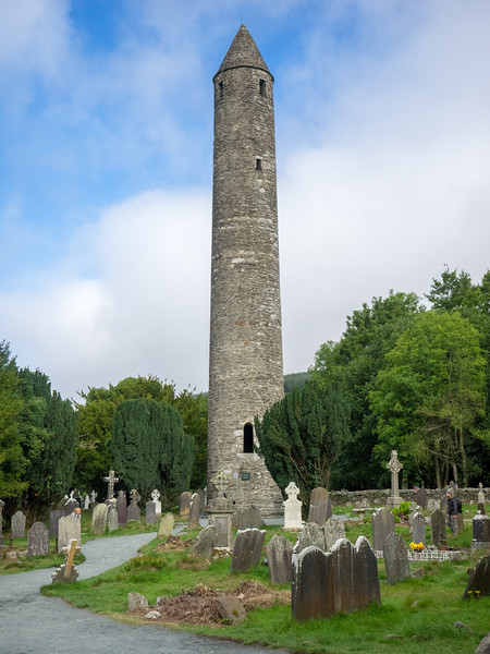 Ancient Tower at Cemetary