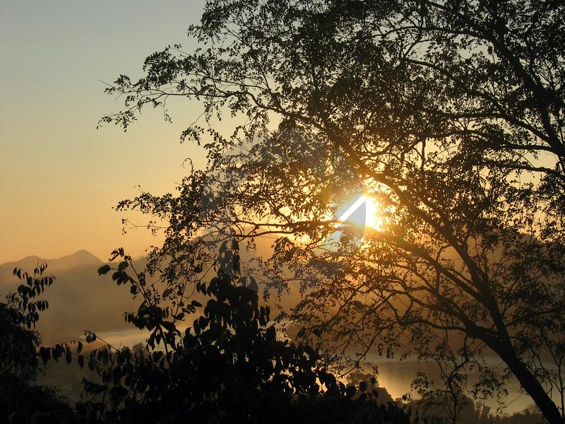 Sun Setting on Vientienne
