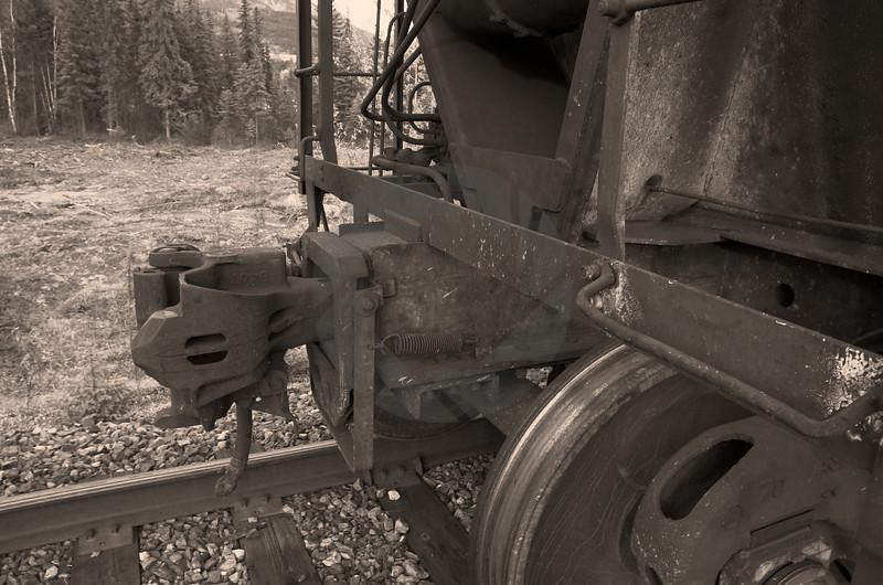 Train Closeup VII
