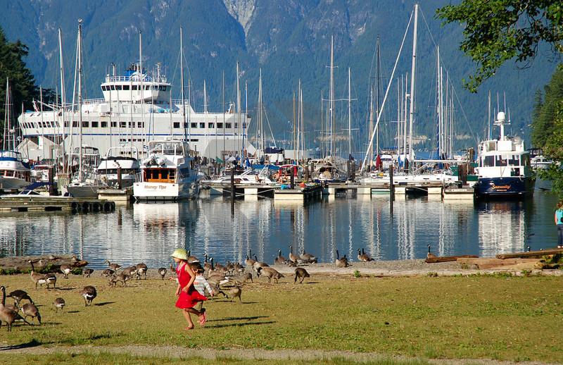 A Scene from Bowen Island