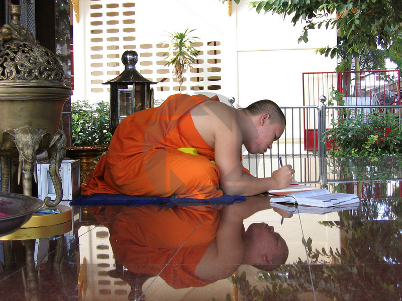 Reflection of a Monk