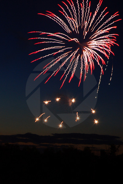 Canada Day Fireworks III