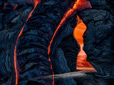 Lava Keyhole