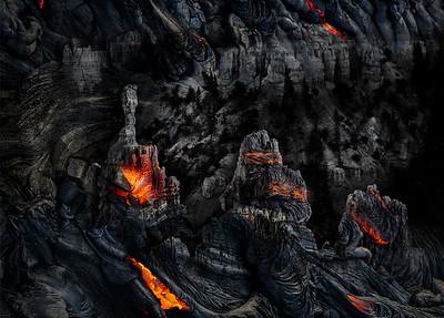 Lava Landscape Project