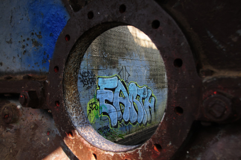 Graffiti<br /> Belle Isle, Richmond, Va