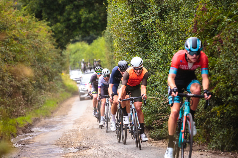Steve Lampier Gravel Dodging at the Ryedale Grand Prix 2019