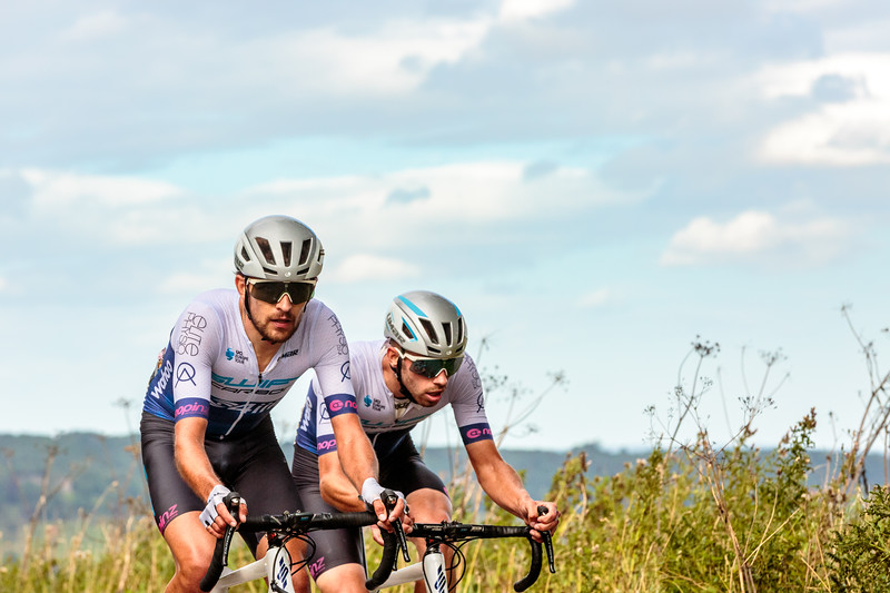 James Shaw and Jacob Scott - Breakaway companions and team mates