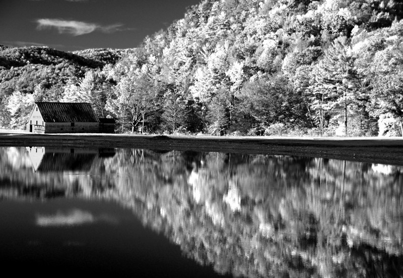fall barn Marlinton, WV<br /> converted to infrared