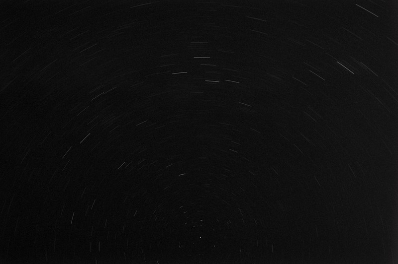 Star Rotation, this was about a 10-15 minute exposure.
