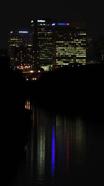 Richmond Va at night