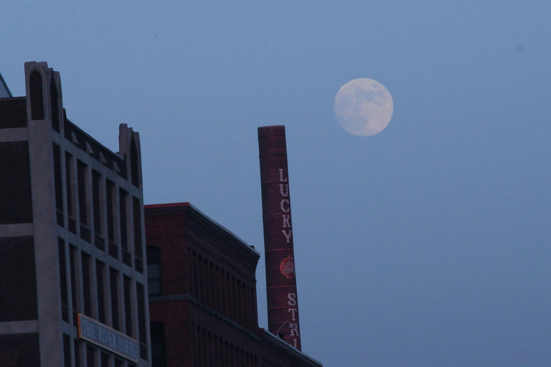 Moon over Richmond