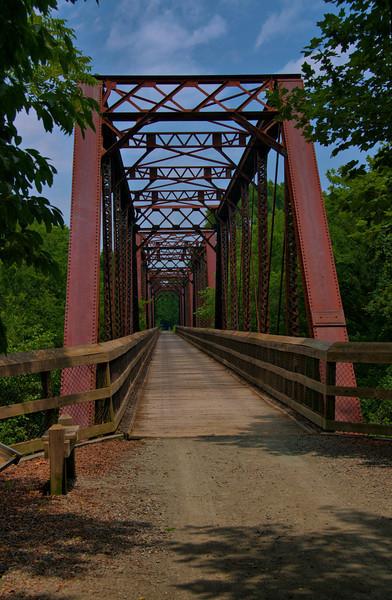 HDR processed image of bridge