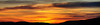 West Va Mountain Sunrise Marlinton, WV - October 2008 <br /> Panoramic of 5 or 6 photos, stiched using Microsoft Ice
