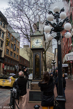 Steam Clock, Vancouver, British Columbia