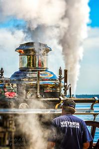 Victoria Fire Department -  Waterous steam pumper