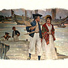 "Original Painting -- C. M.Padday -- ""Back From the Indies"""