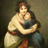 Elisabeth-Louise Vigée Le Brun -- Self Portrait With Daughter.