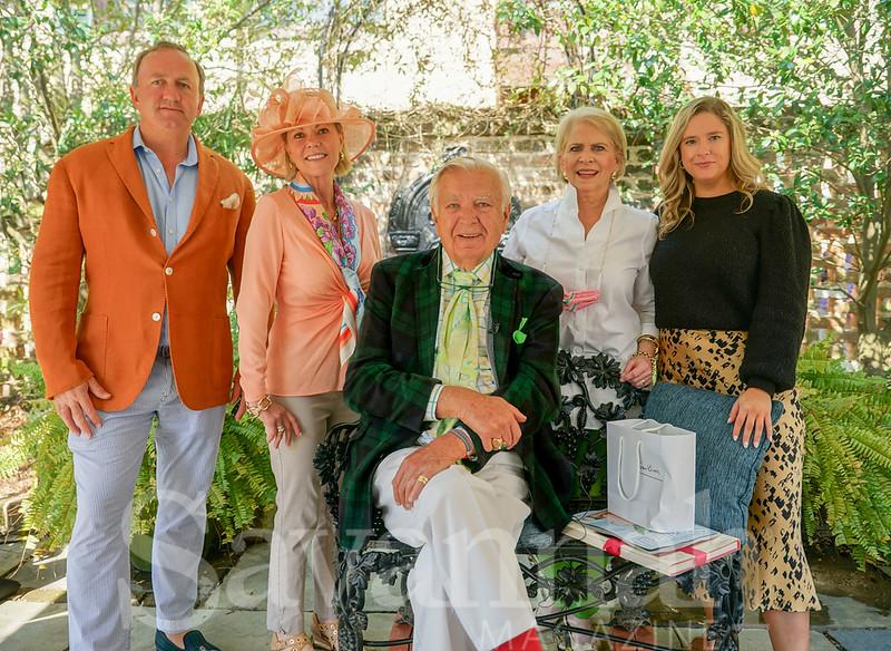Brinsley Matthews, Paula Fogerty, Carleton Varney, Mary Lee Stevens and Courtney Hester