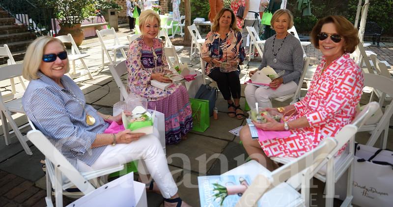 Martha Sullivan, Cindy Howard, Beth Aldrich, Beth Johnson and Nancy Beckman