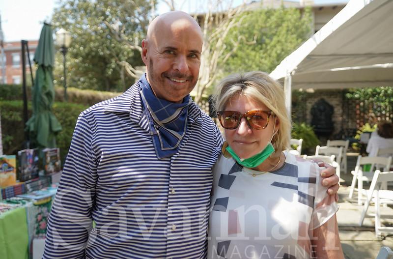 Mark Ellis and Monique Merrill