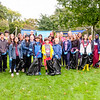 32 Rotarians and Interact students from Richview Collegiate and Etobicoke Collegiate  came out to clean up litter  in James Park.