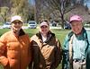 RTW liaison Saira Keirfu of Etobicoke Collegiate Institute with RTW President Stephen Thiele and RTW member Don Foster