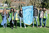 Rotary Interact Club students from Richview Collegiate Institute  pitched in to collect some of the spring debris, filling many of the blue bags shown on the left.