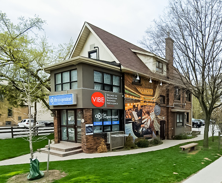 """The evening was kindly hosted by Lola Macanowicz who owns/manages the VIBE Business Centre building in the Islington Village at 5048 Dundas Street West, where she also provides Insurance & Financial Services to the Community through her affiliation with """"The Co-operator's"""""""