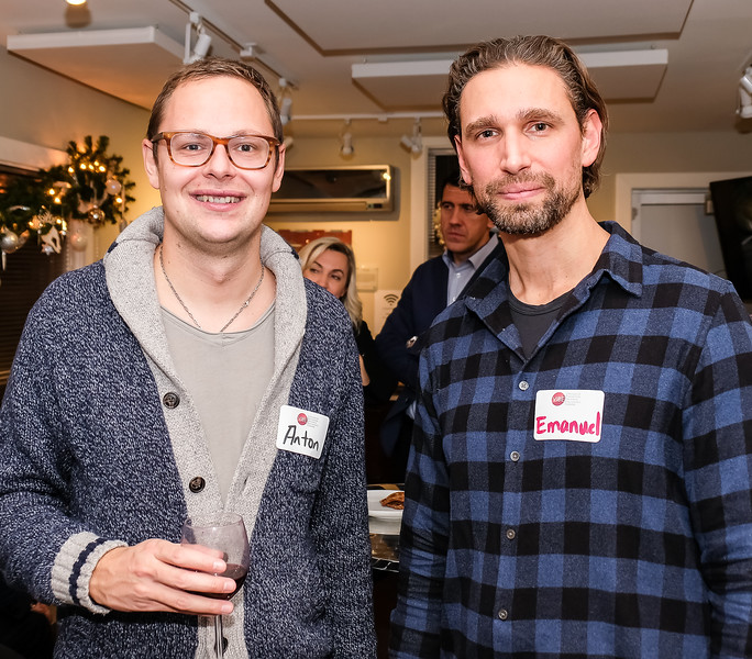 """Anton and Emanuel each have offices in the VIBE Business Centre. Anton  Tzanov has a Law practice, while Emanual Diomis has a Structural Engineering practice. Rotary is largely comprised of like-minded professionals want to  use their talents to help others and """"Make a Difference"""" in the world."""
