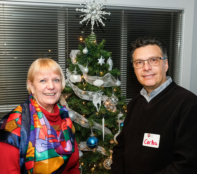 RTW member Susan McCoy with Carlos Bastidas, Music Director & Conducter of the Ontario Pops Orchestra  which offers wonderful concerts periodically in Etobicoke.  (ie Dec 14, 2019 !!!, March and May 2020 www.OntarioPops.com )