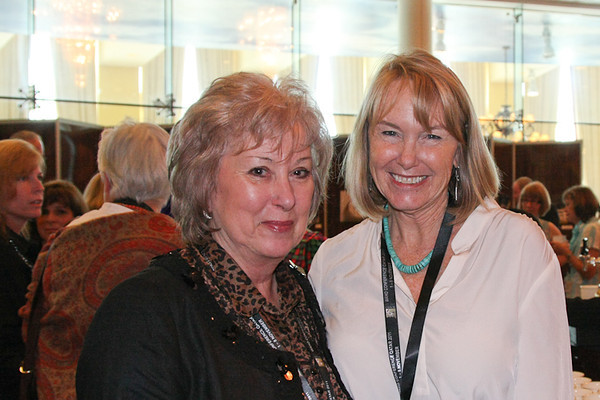 Val Bunting and Denise Gault