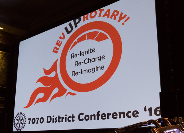 District 7070 Conference Oct 2016