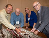 """Rotarian """"Hands-on"""" project to make blankets for 360Kids.ca"""