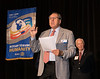 District Governor 7070 Jim Louttit revving things up.