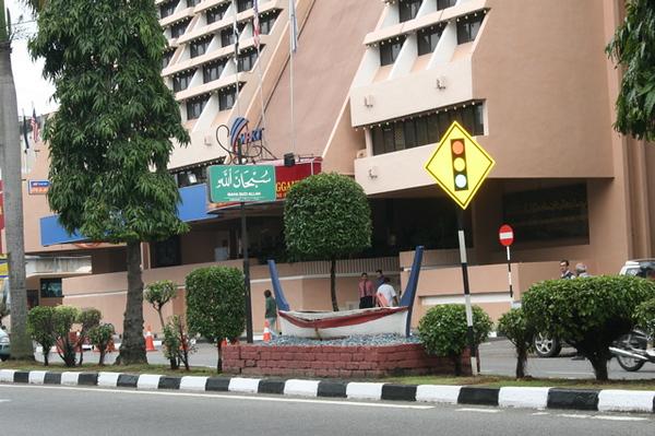 27.Kuala Terengganu......Kuala means mouth of the river....