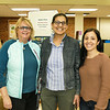 Patti Wright with ECI teachers Saira Kierfu and Stephanie Vink all organized the event.