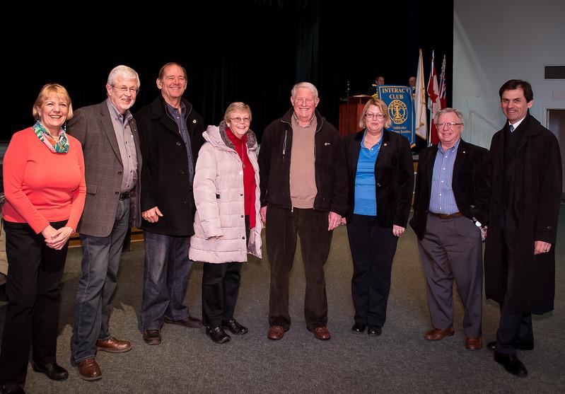 Rotary Toronto West members