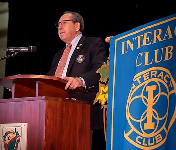 ECI Rotary Interact Club New Members Induction  -  Feb 22 2017