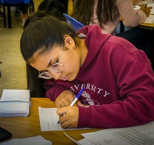 ECI Interactors and Students write Santa Letters Nov 29 2018