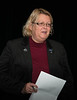 Patti Wright, Past President of Rotary Toronto West greets everyone