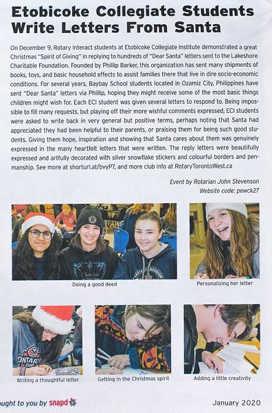 Snapd Article - Etobicoke Edition - Jan 2020