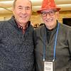 Rotarians Gaston B and John S