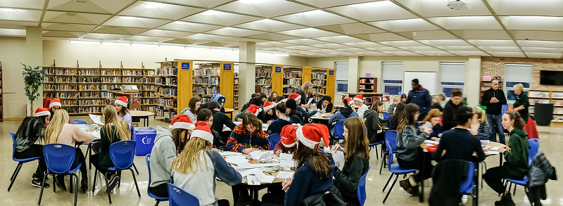 Huge thanks to all 43 students who participated in this Santa letter writing event.