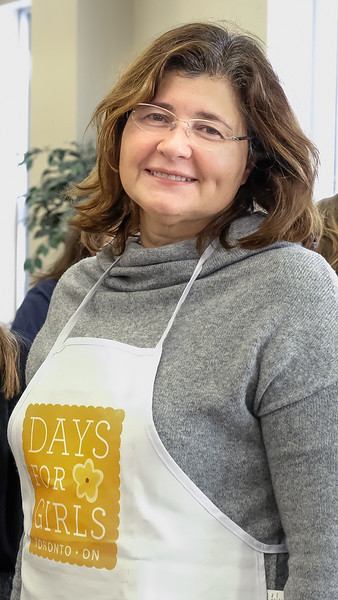 Marie Polliari takes time from her busy career to organize and run the Toronto DfG chapter, making a huge difference in the lives and schooling of so many young disadvantaged girls worldwide.